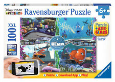 CHILDRENS DISNEY FINDING NEMO AUGMENTED 100 XXL PIECE JIGSAW PUZZLE RAVENSBURGER