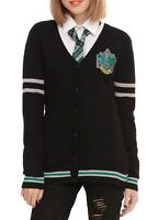 Harry Potter Slytherin House Cardigan Cosplay Size M New With Tags!
