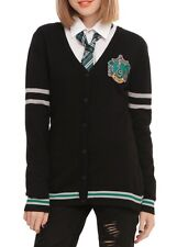 Harry Potter Slytherin House Cardigan Cosplay Size Medium New With Tags