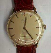 Orologio AVIA carica manuale, laminato oro, rimesso a nuovo con movimento AS 113