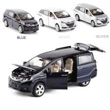 Honda Odyssey MPV Pullback Alloy Metal Sound Light Model Vehicle Diecast Car Toy