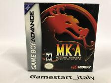 MORTAL KOMBAT ADVANCE MKA - NINTENDO GAME BOY ADVANCE GBA - NEW NTSC VERSION