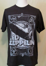 NEW Led Zeppelin Live Nation Mens Size Large Black Short Sleeve Tee Shirt