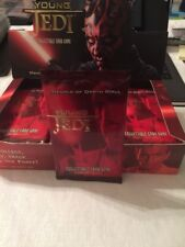 Star Wars Young Jedi CCG Menace Of Darth Maul Booster Pack Sealed Decipher MODM