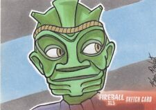 GERRY ANDERSON COLLECTION 2017 - KEVIN P. WEST SKETCH CARD