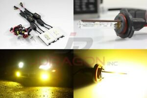 9006/Hb4 3000K Yellow 35W Slim AC Canbus Ballast Xenon HID Kit Fog Light