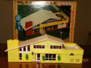 H0 scale 1960's Plasticville Contemporary House 2906-250 - Excellent Condition