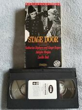 Stage Door (1937) - VHS Tape - Comedy / Drama - Katharine Hepburn -Ginger Rogers