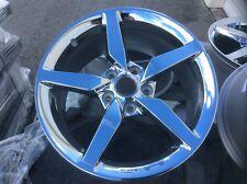 Stingray Corvette 19x10 GM factory original chrome wheel  2014