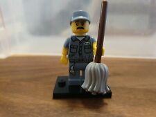 ☼ LEGO MINIFIGUREN Serie 15 ☼ 71011 ☼ Hausmeister Janitor ☼ NEU / NEW ☼