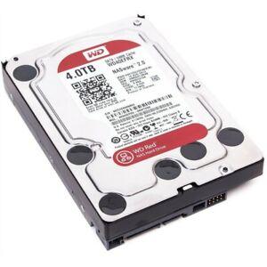"Western Digital Red 4TB Internal 3.5"" SATA 6Gbps Hard Drive HDD WD40EFRX NAS"