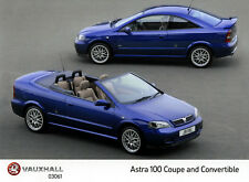 Vauxhall-Opel Astra MK4 Convertibe Photo Collection inc Turbo, Linea Rossa
