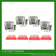 Piston + Ring Kit Set Oversize (0.50) for V3300 (1C011-21110) X 4 Sets