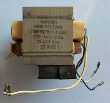 Hochspannungstransformator- Trafo Mikrowelle AEG Micromat 1760E