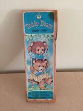 Teddy Bears Paper Doll Set