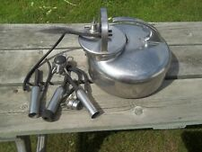 New listing Babson Bros. Co The Surge Milker Stainless Steel Milking Machine And Accessories