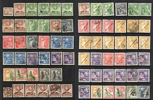Malta GVI 1938,48 Issues on 2 pages