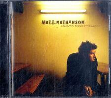 MATT NATHANSON Beneath These Fireworks CD Near Mint