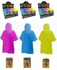Kids Girls Boys Waterproof Travel Poncho Raincoat Reusable,Childrens Hiking