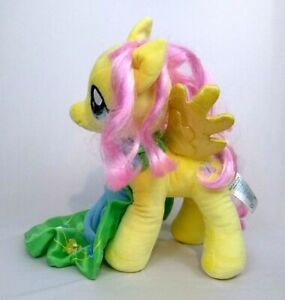 """Build A Bear My Little Pony Fluttershy Plush Yellow with Cape and Choker  16"""""""