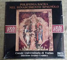 Polifonia sacra nel rinascimento spagnolo - Corale universitaria di Torino - LP