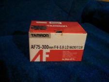 TAMRON Lens for Nikon AF-D, AF75-300mm F/4-5.6 LD Macro (1:3.9) Model 672DN
