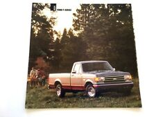 1991 Ford F-150 F-Series Truck 26-page Original Dealer Sales Brochure Catalog