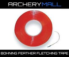 Bohning Adhesive Feather Fletching Tape Glue Arrow #01649