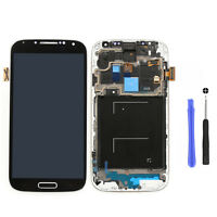 Für Samsung Galaxy S4 LTE GT-I9505 LCD Display + Touchscreen + Frame -Blau