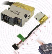 HP Envy X2 Detachable 15-C029LA DC Jack Power Socket Cable Connector Wire