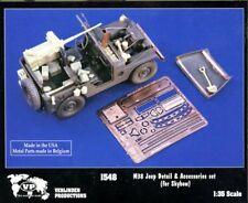 Verlinden 1:35 M38 Jeep Detail Set for Skybow Resin Detail Set #1548