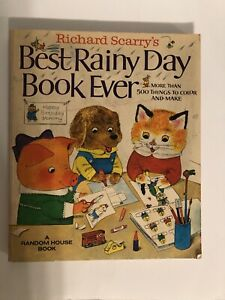 Richard Scarry's Best Rainy Day Book Ever by Scarry, Richard Paperback