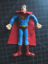 VINTAGE NOS SUPERMAN BENDY 1970'S HONG KONG WITH CAPE