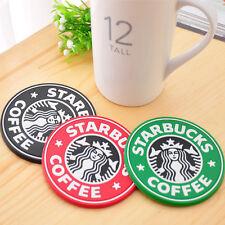 NEW Starbucks mermaid PVC Wine Coaster Placemat coffee Silica gel Mat Gift