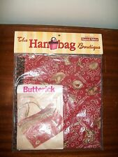 The hand bag boutique rodeo twist Hancock fabrics diy craft bag butterick