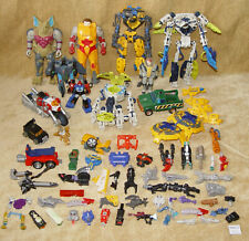 VINTAGE JOBLOT TRANSFORMERS & ROBOTS ACTION FIGURE SPARES REPAIR LOT BUNDLE G1