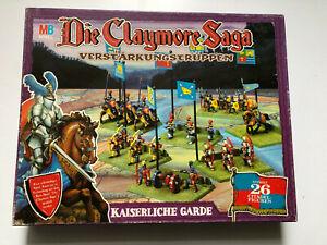 Die Claymore Saga - MB Spiele, Citadel-Figuren, Games Workshop,Sammlung unbemalt