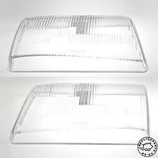 Mercedes R107 SL C107 SLC Headlight Lens H1 RHD x2 Bosch 1305620123 1305620124