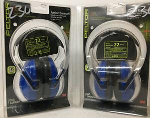 (2) PELTOR 3M #97023 JUNIOR EARMUFF - BRAND NEW BLUE