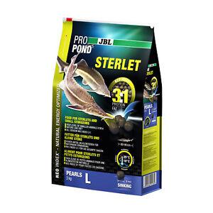 JBL ProPond Sterlet L, 3 kg, Alleinfutter (9 mm) für große Sterlets von 60-90 cm