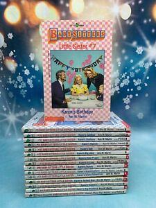 Babysitters Little Sister Scholastic Club Lot Complete Series Pick & Choose Set