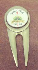 2013 US Open Merion Divot Tool with Golf Ball Magnetic Marker USGA