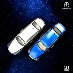 Time Micro 1/64 Diecast Model Car Rolls-Royce Phantom 8 Refitted Star Blue New