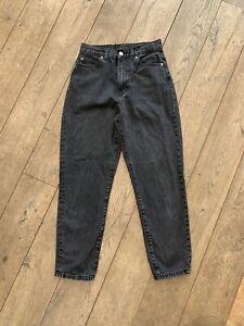 Black Dr Denim Mom Jeans Size 6 - 26/30