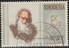 Rhodesia Zimbabwe 1972 Famous Rhodesians, Robert Moffet (6rd Issue) Used