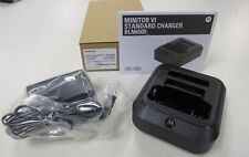 NEW*OEM MOTOROLA MINITOR VI 6 PAGER CHARGER  RLN6505 PMLN6456 FIRE-EMS-VFD