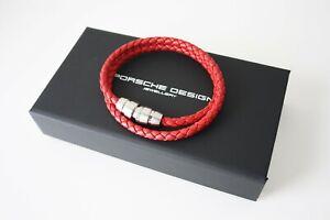 Porsche Design Bracelet Double 21,5 Red