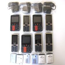 LOT of 8 cell phones Cricket A310 and Kyocera Domino S1310 With Chargers