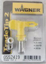 WAGNER TRADE TIP 2 0552419 UGELLO PER PISTOLA VERNICE AIRLESS ORIGINALE 345 bar