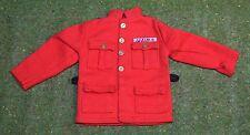 Vintage Action Man 40th suelto chaqueta de policía montada Royal Canadian sin fichas